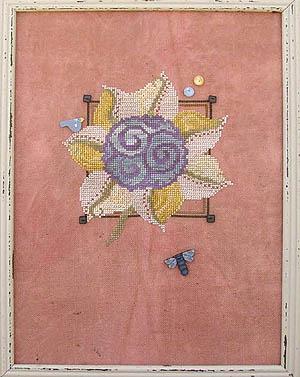 SamSarah Design Studio - Imaginary Botanical Swirls - Cross Stitch Pattern