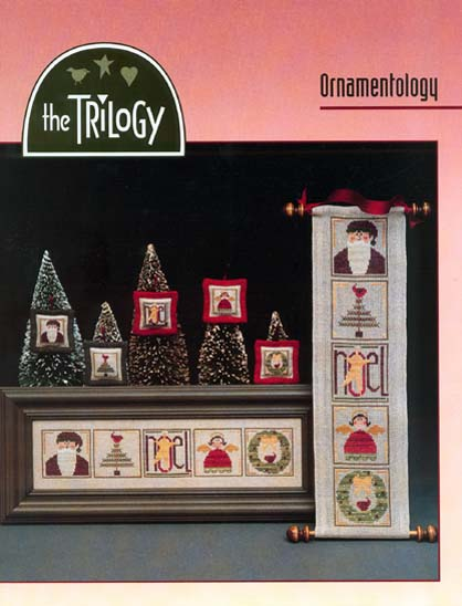 The Trilogy - Ornamentology Cross Stitch Pattern-The Trilogy - Ornamentology Cross Stitch Pattern