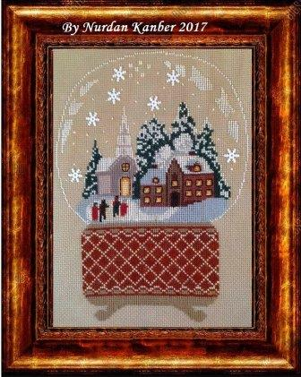 Twin Peak Primitives - Snow Globe Victorian Scene-Twin Peak Primitives - Snow Globe Victorian Scene