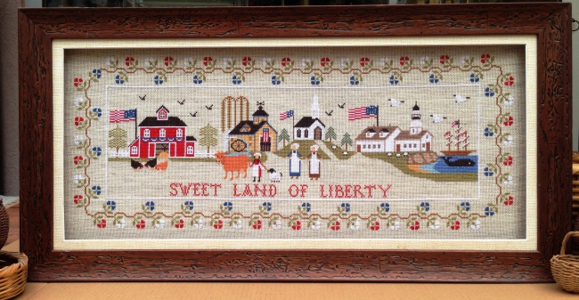Twin Peak Primitives - Sweet Land of Liberty - Nashville Exclusive-Twin Peak Primitives - Sweet Land of Liberty, USA, Patriotic, American,