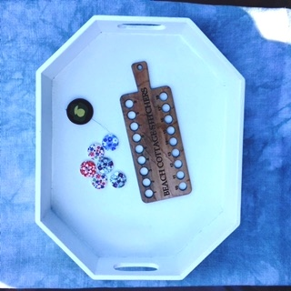 Wood Crafters - Needlework Tray-Wood Crafters - Needlework Tray, sewing, scissors, box, octagon,