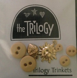 The Trilogy - Sneak Peak Summer - Trinkets-The Trilogy - Sneak Peak Summer - Trinkets, Charms and Buttons, cross stitch