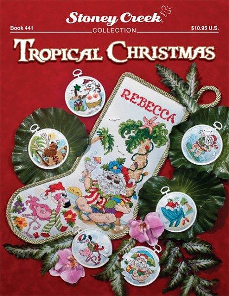 Stoney Creek - Tropical Christmas - Cross Stitch Patterns-Stoney Creek - Tropical Christmas - Cross Stitch Patterns