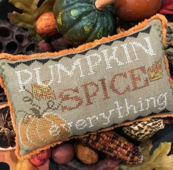 The Scarlett House - Pumpkin Spice Everything-The Scarlett House - Pumpkin Spice Everything, fall. autumn, pumpkins, spice, Thanksgiving, cross stitch