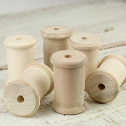 Wood Crafters - Wood Spool 3 Inch-Wood Crafters - Wood Spool 3 Inch