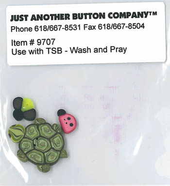 Just Another Button Company - Wash & Pray - Button Pack-Just Another Button Company, Wash & Pray, itme #9707, Button Pack