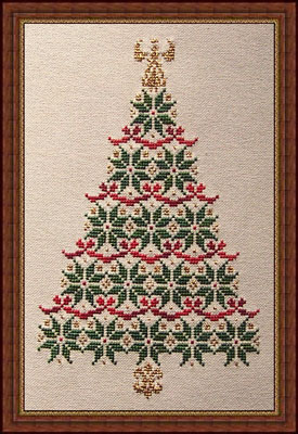 Whispered by the Wind - Simply Christmas - Cross Stitch Pattern