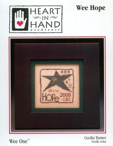 Heart in Hand Needleart - Wee Hope