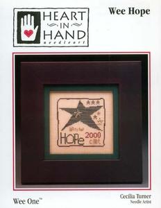Heart in Hand Needleart - Wee Hope - Cross Stitch Pattern