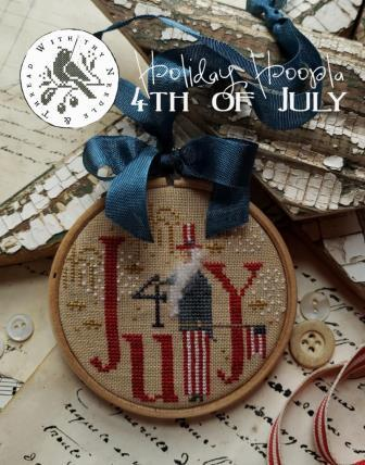 With Thy Needle & Thread - Holiday Hoopla - 4th of July-With Thy Needle  Thread - Holiday Hoopla - 4th of July, USA, patriotic, Uncle Sam, cross stitch