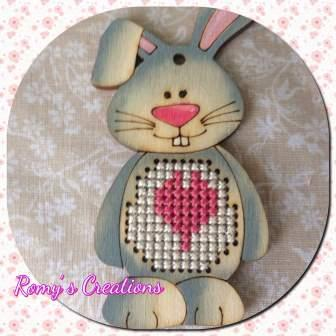 Romy's Creations - Stitch-in-Wood - Bunny