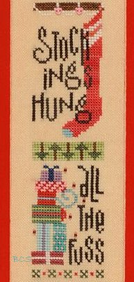 Heart in Hand Needleart - Here's the Skinny on Christmas