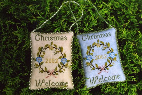 The Marking Samplar - Christmas Welcome - Cross Stitch Chart