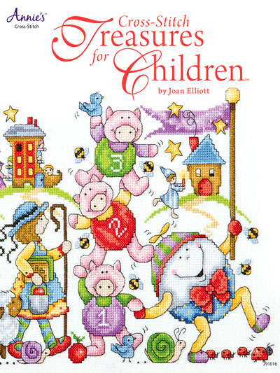 Annie's - Cross-Stitch Treasures for Children - Book of Designs-Annies - Cross-Stitch Treasures for Children - Book of Designs,