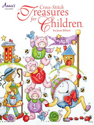 Annie's - Cross-Stitch Treasures for Children - Book of Designs